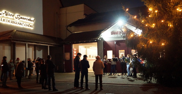 Zeiskam Jugendmusikverein Spielt Advents Ständchen Pfalz Express