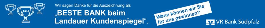 VR Bank Südpfalz - Beste Bank - Branchensieger