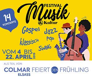 Colmar feiert den Frühling  - Festival Musik und Kultur - Ostereiermärkte