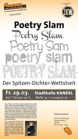 Poetry Slam KuKuK Kandel