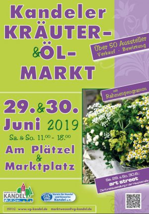 Kräuter-und Ölmarkt Kandel 2019