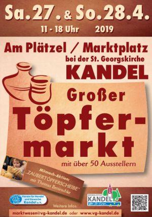 Töpfermarkt in Kandel