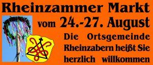 Rheinzammer Markt - Kerwe Rheinzabern