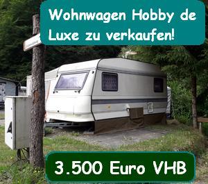 Wohnwagenzu verkaufen