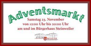 Adventsmarkt Steinweiler
