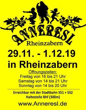 Anneresl-Markt Rheinzabern 2019