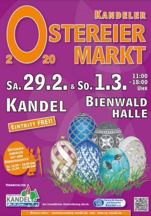 Ostereiermarkt Kandel 2020