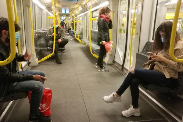 Bahn Fernverkehr Maskenpflicht