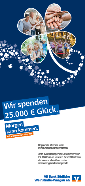 VR Bank Südliche Weinstraße-Wasgau eG Glücksbringer
