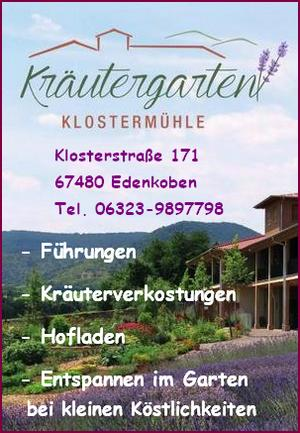 Kräutergarten Klostermühle