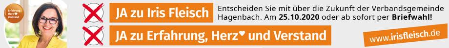 Iris Fleisch, CDU-Bürgermeisterkandidatin für die Verbandsgemeinde Hagenbach