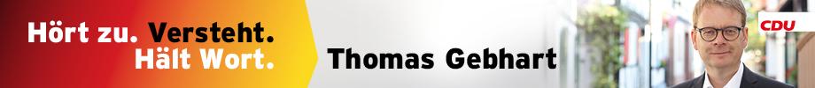 Bundestagswahl 2021 - Dr. Thomas Gebhart, CDU