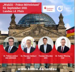 BVMW Landau Veranstaltung mit Bundestagskandidaten