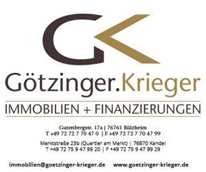Götzinger Krieger Immobilien und Finanzierungen Rülzheim Kandel