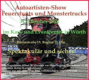 Autoartistenshow in Wörth